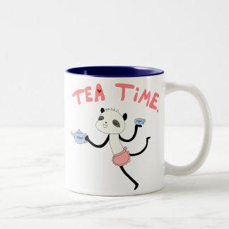 Tiempo del té taza