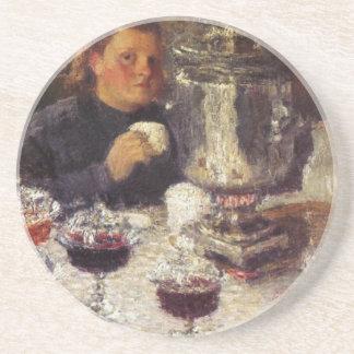 Tiempo del té: Un samovar de Igor Grabar Posavasos Manualidades