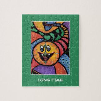 Tiempo largo en el verde - pedazos del tiempo puzzle
