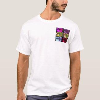 Tiempos seis de las violetas camiseta