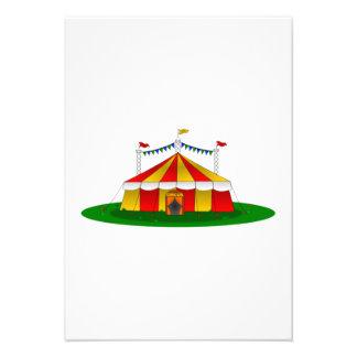 Tienda de circo anuncios