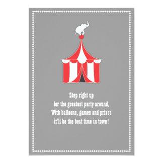 Tienda de circo y fiesta de cumpleaños de los anuncios