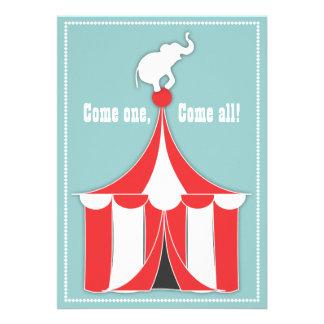 Tienda de circo y fiesta de cumpleaños de los niño