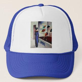 Tienda de gorra - August Macke