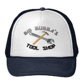 Tienda de la herramienta de Bubba grande Gorro De Camionero