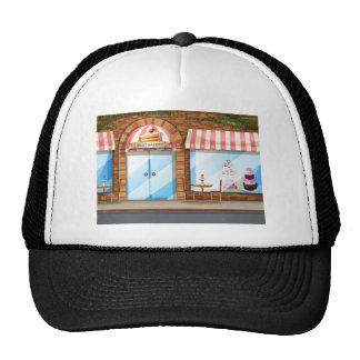 Tienda de la panadería gorra