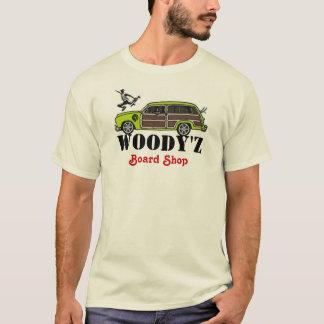 Tienda del tablero de WOODY'Z Camiseta