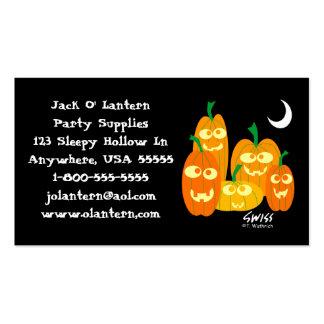 Tienda divertida de los disfraces de Halloween de Tarjetas De Visita