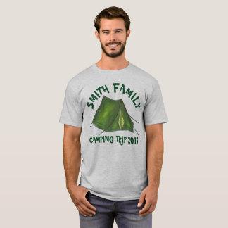 Tienda personalizada de la acampada de las camiseta