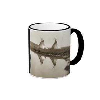 Tiendas de los indios norteamericanos indias tazas de café
