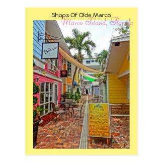 Tiendas de Olde Marco - la isla la Florida de Postal