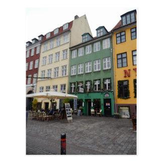 Tiendas y restaurantes, Nyhaven, Copenhague Postal