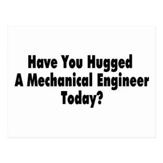 Tiene usted abrazado un ingeniero industrial hoy postal