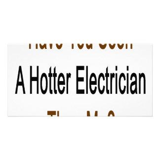 Tiene usted visto un electricista más caliente que tarjetas fotograficas personalizadas