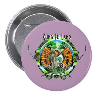 Tierra de Kung Fu Chapa Redonda 7 Cm