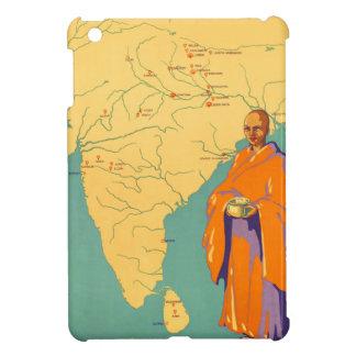 Tierra de la India del viaje de señor Buda Vintage