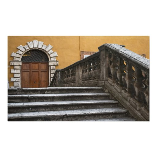 Tierra de Siena, Toscana, Italia - opinión de ángu Impresiones Fotograficas