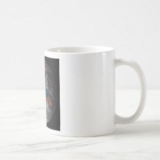 Tierra del espacio taza de café