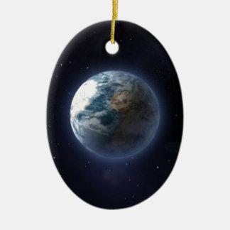 Tierra del planeta ornatos