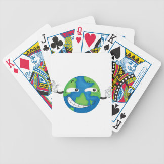 tierra del planeta baraja cartas de poker