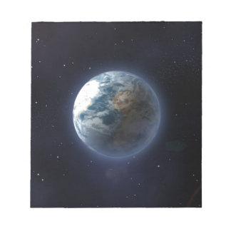 Tierra del planeta blocs