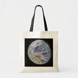 Tierra del planeta bolsa