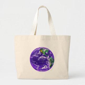 Tierra del planeta bolsas