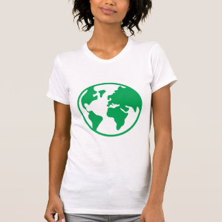 Tierra del planeta camiseta