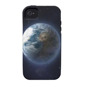 Tierra del planeta Case-Mate iPhone 4 fundas