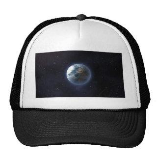 Tierra del planeta gorro de camionero