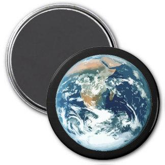 Tierra del planeta imanes