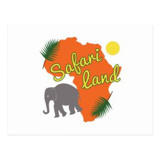 Tierra del safari postal