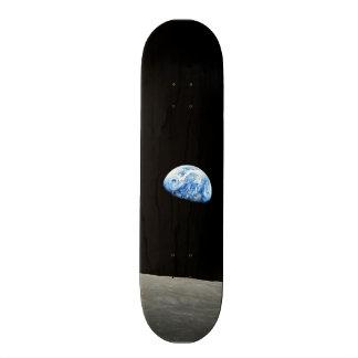 tierra del universo del espacio de la luna patin