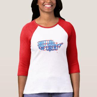 Tierra dulce de la camiseta patriótica de América