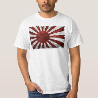 Tierra japonesa del vintage de Japón de la Camiseta