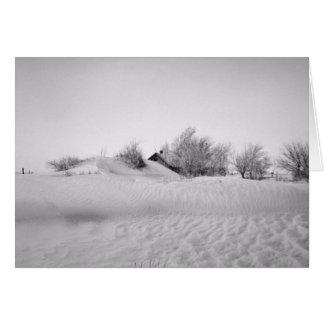 Tierras de labrantío erosionadas - Oklahoma Tarjeta De Felicitación