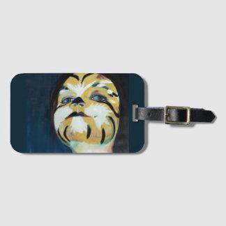 """Tiger de la etiqueta del equipaje """""""
