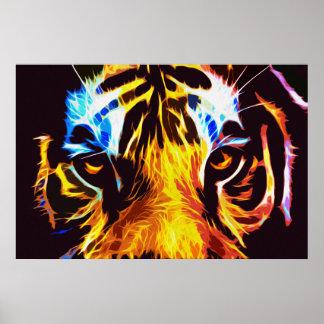 Tigre 03 - Arte de Digitaces