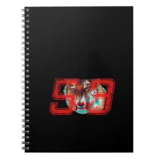 Tigre 3D Cuaderno