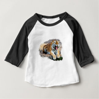 Tigre Camiseta De Bebé