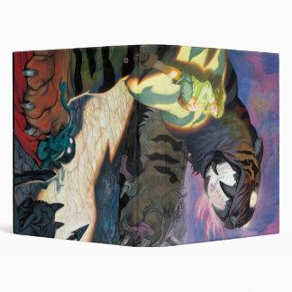 Tigre crepuscular para la carpeta carpeta 2,5 cm