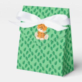 Tigre de bebé de los animales el | del safari cajas para regalos de fiestas