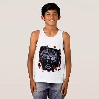 Tigre de la camisa del muchacho