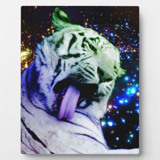 Tigre del arco iris placa expositora