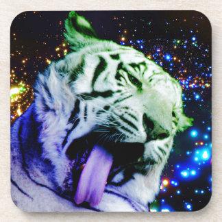 Tigre del arco iris posavasos