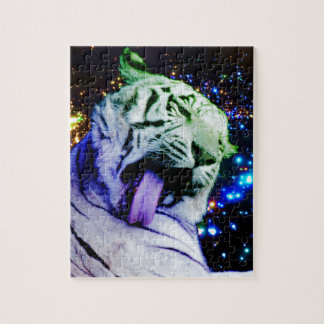 Tigre del arco iris puzzle