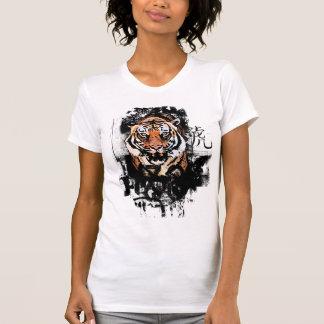 Tigre del Grunge Camisetas