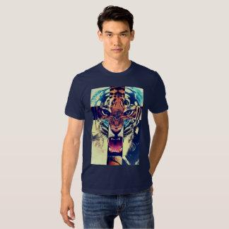 Tigre del rugido camisas