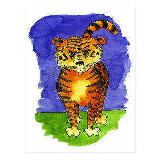 Tigre del tigre postales
