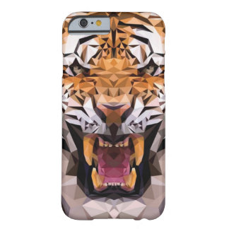 Tigre geométrico funda barely there iPhone 6